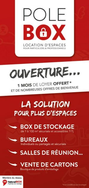 offres de bienvenue pole box location de box garde meuble bureau lyon chassieu eurexpo. Black Bedroom Furniture Sets. Home Design Ideas