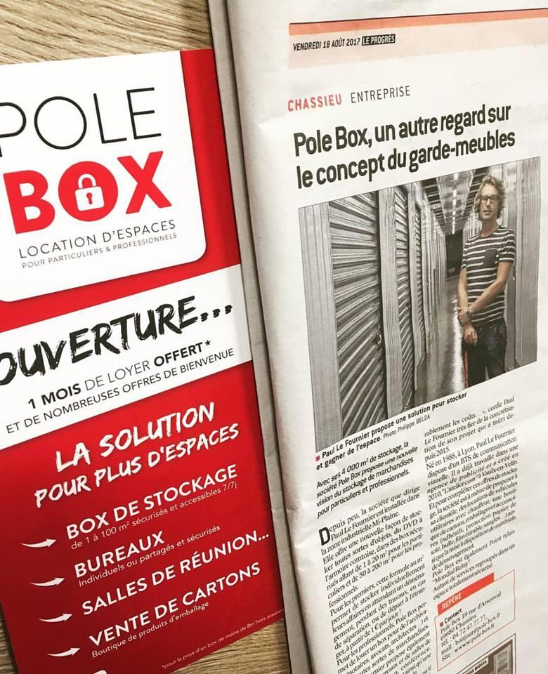 Pole Box dans Le Progrès !!