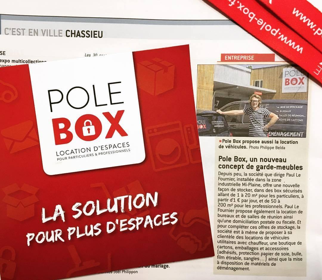 Article sur POLE BOX !